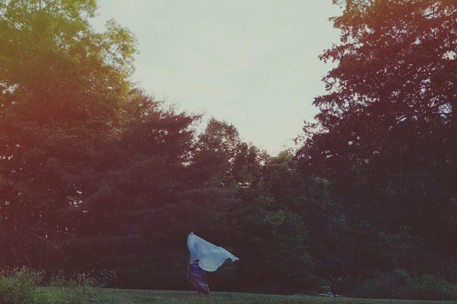 Summer Solstice veil dance